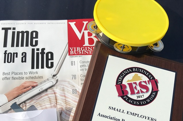 ARG was honored to be recognized as one of the best places to work in Virginia for the 3rd year in a row