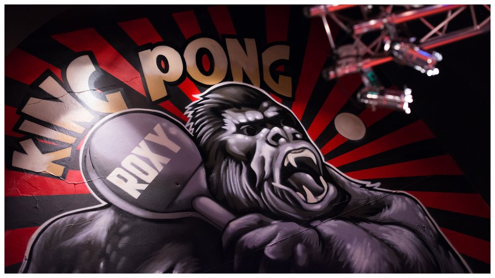 PING PONG - WE HAVE 3 FULL SIZE COMPETITION TABLES READY FOR YOU TO TAKE ON THE PONG£6 PER HALF HOUR