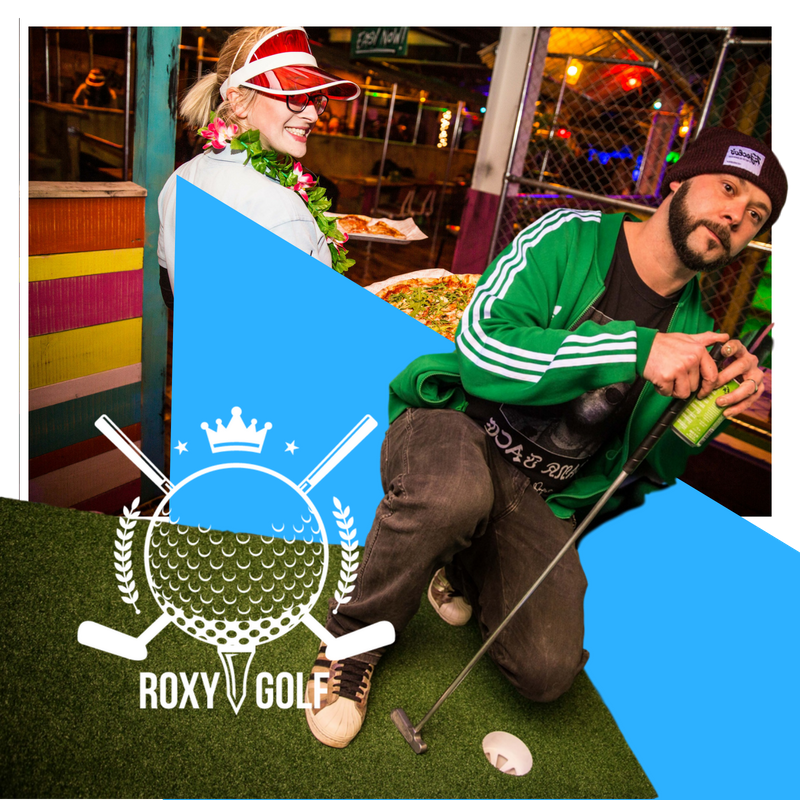 OUR GOLF BAR SERVES AN ARRAY OF BEERS, CIDERS, WINES & SPIRITS AS WELL AS OUR SPECIALLY CRAFTED COCKTAILS. WHY NOT TRY THE CADDIE SHACK DAIQ OR PUTTING FROM THE ROUGH… -