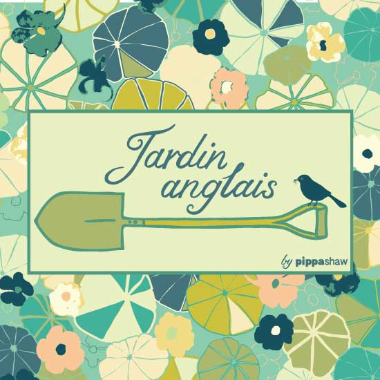 Jardin anglais collection by Pippa Shaw