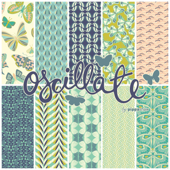 "the full set of patterns in the ""Oscillate"" collection"