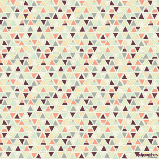 Tiny Triangles pattern (original version)