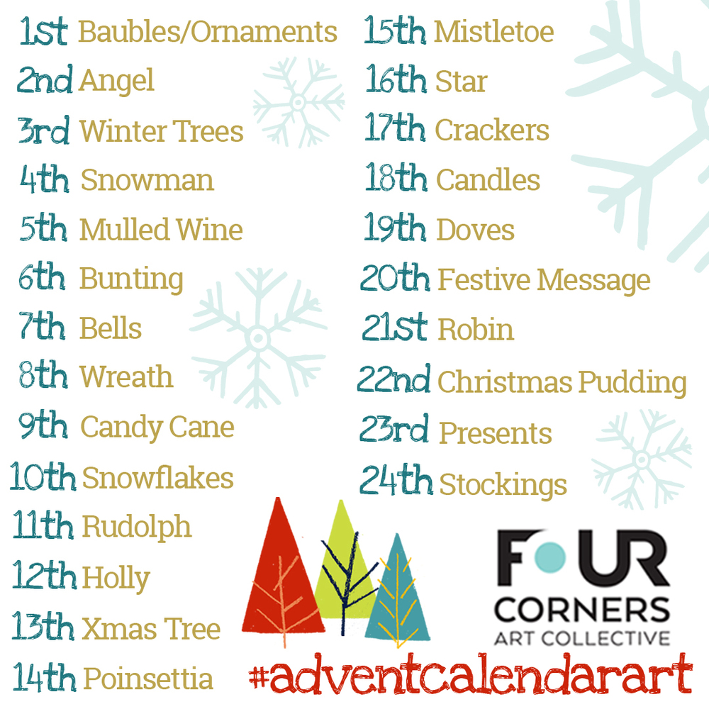 Four Corners Advent Calendar Art