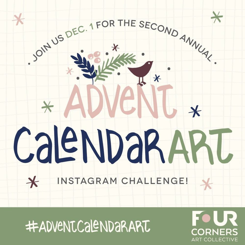 Four Corners Art Collective Advent Calendar challenge 2017.jpg