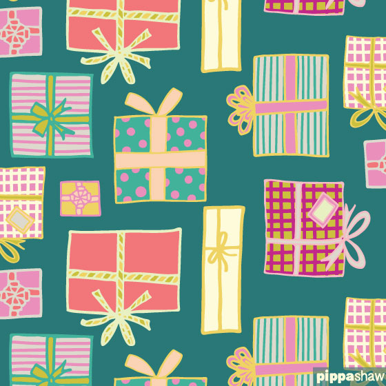 Gifts and Giving repeat pattern