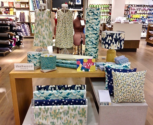 the beautiful Dashwood Studio Altitude display in John Lewis Oxford Street, London