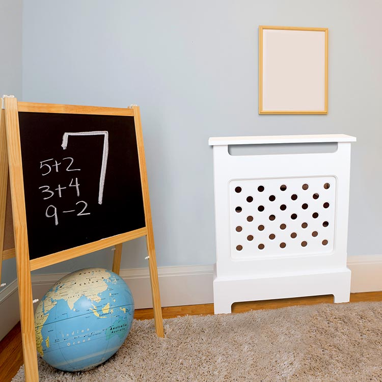 Extra safe bubble grill. Designed especially for children's nurseries.