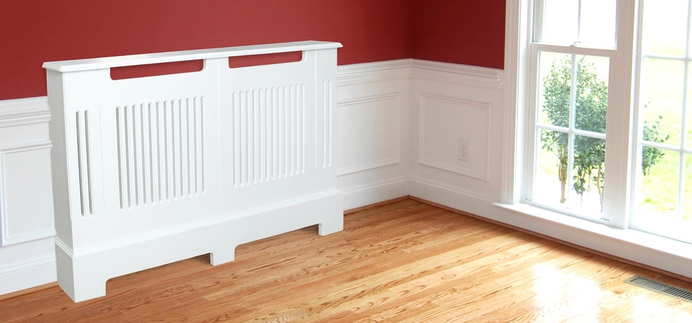 Slatted MDF Radiator Cover