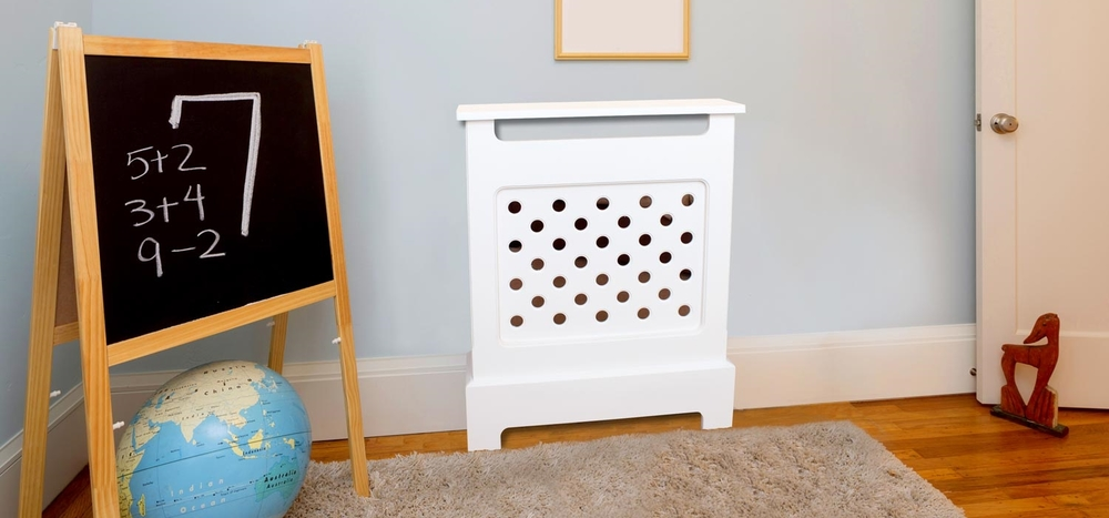 Bubble MDF Radiator Cover