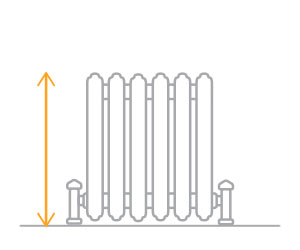 Radiator Measurements Height