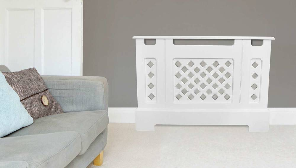 Square MDF Radiator Cover