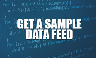 GET A COMPLEMENTARY DATA FEED & EXPERIENCE SUPERIOR DATA