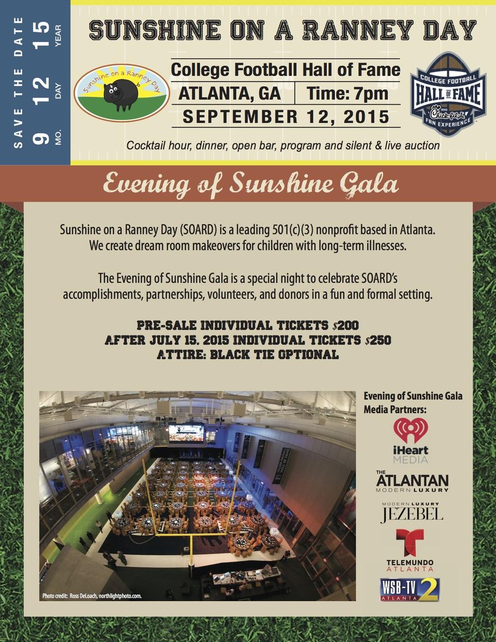 2015 Evening of Sunshine Gala