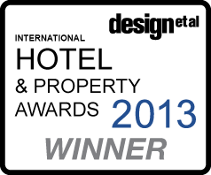 Design et al. Hotel and property awards 2013 winner