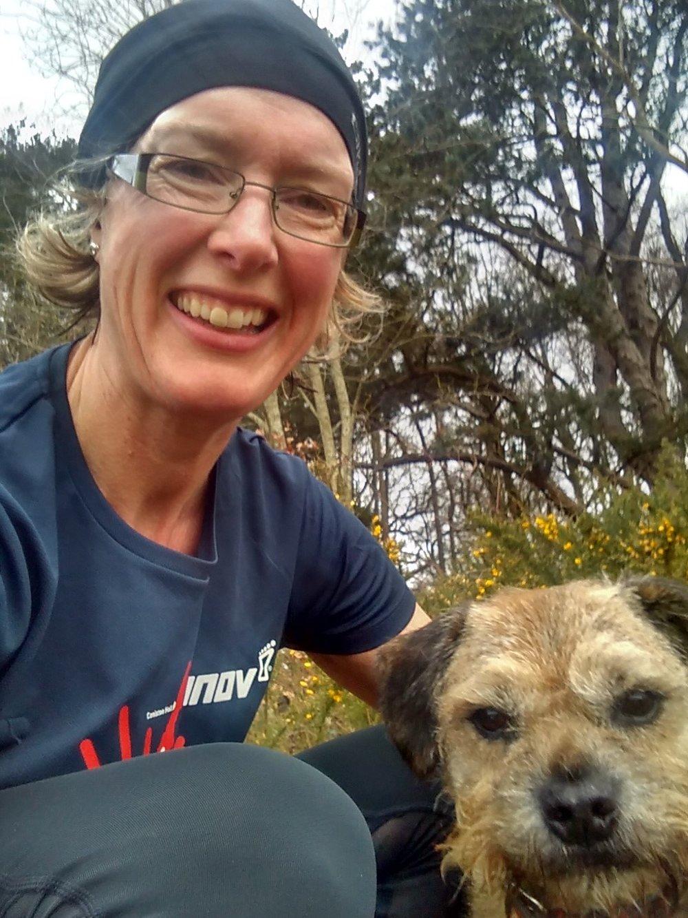 Fran & training partner