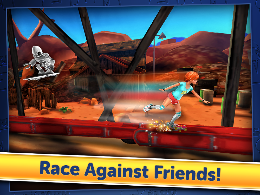 ZYNGA SKATEBOARD SLAM (iOS)