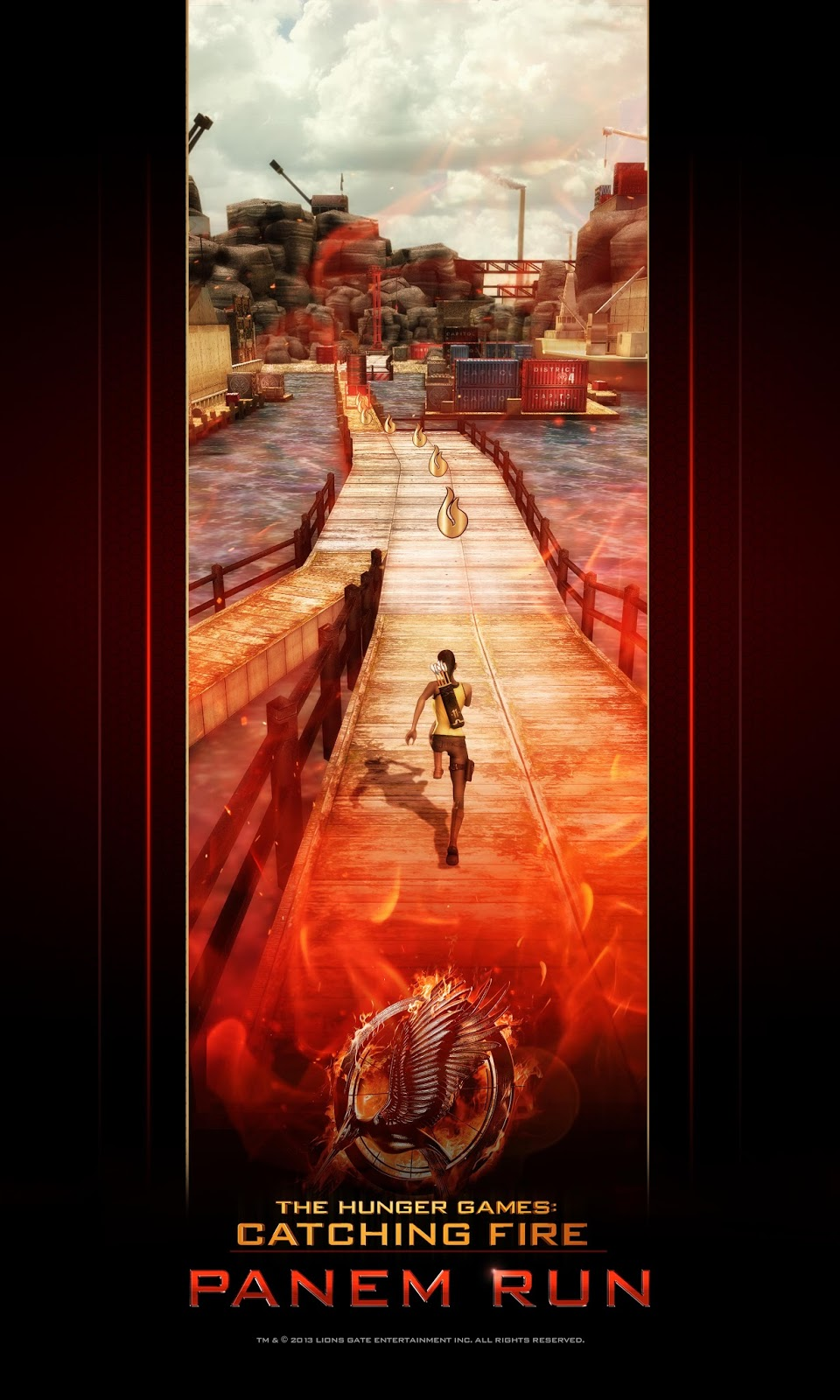 HUNGER GAMES: CATCHING FIRE (iOS/Android)