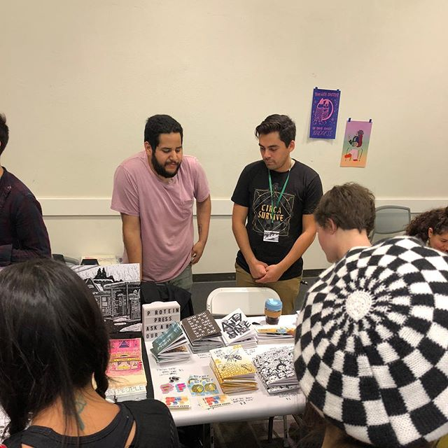 @lazinefest was great. Thanks to everyone who came and asked about our zines and all the homies too. We love you
