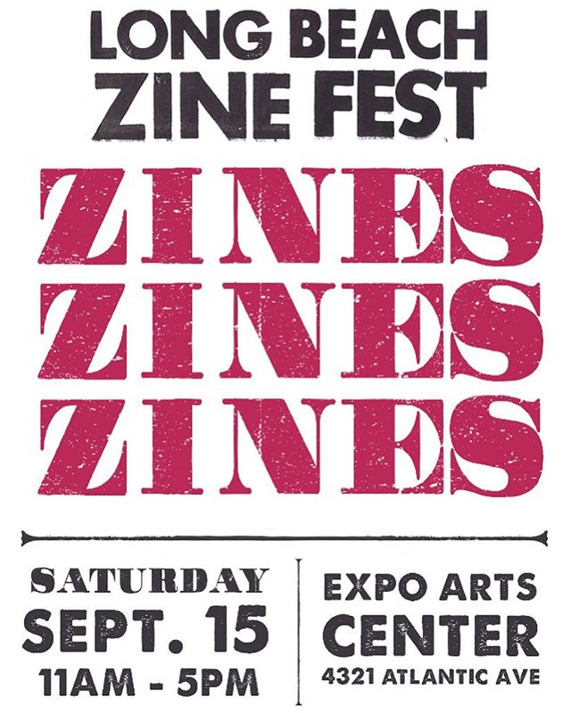 We're gonna be tabling @lbzinefest this Saturday! Come say hey, last year was pretty fucking great.