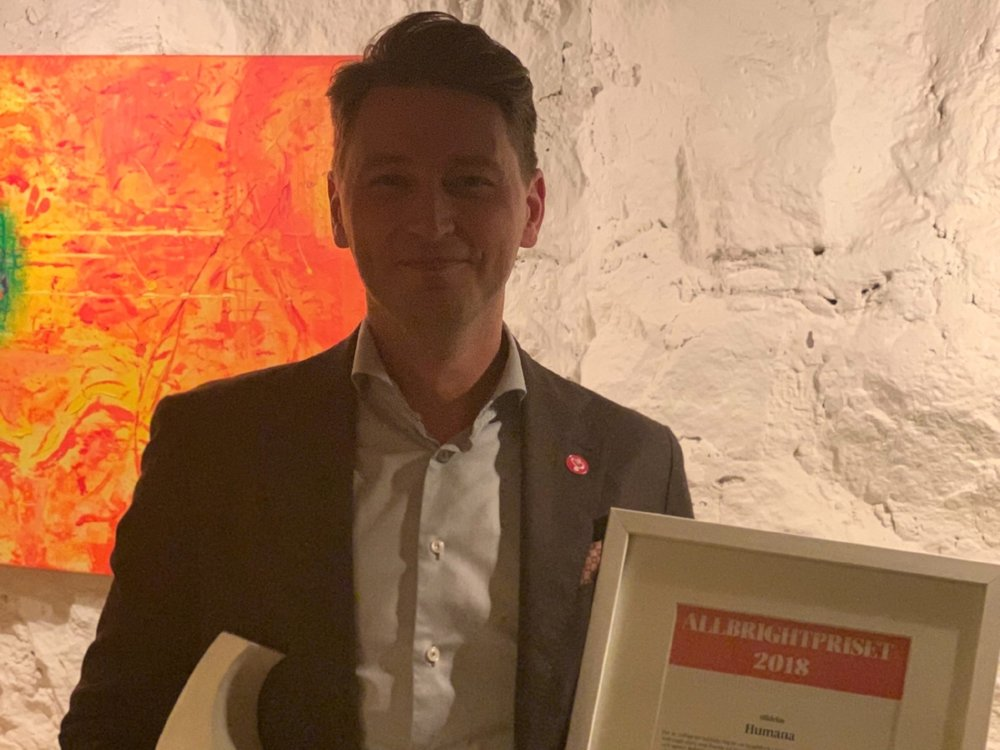 Rasmus Nerman, vd och koncernchef Humana