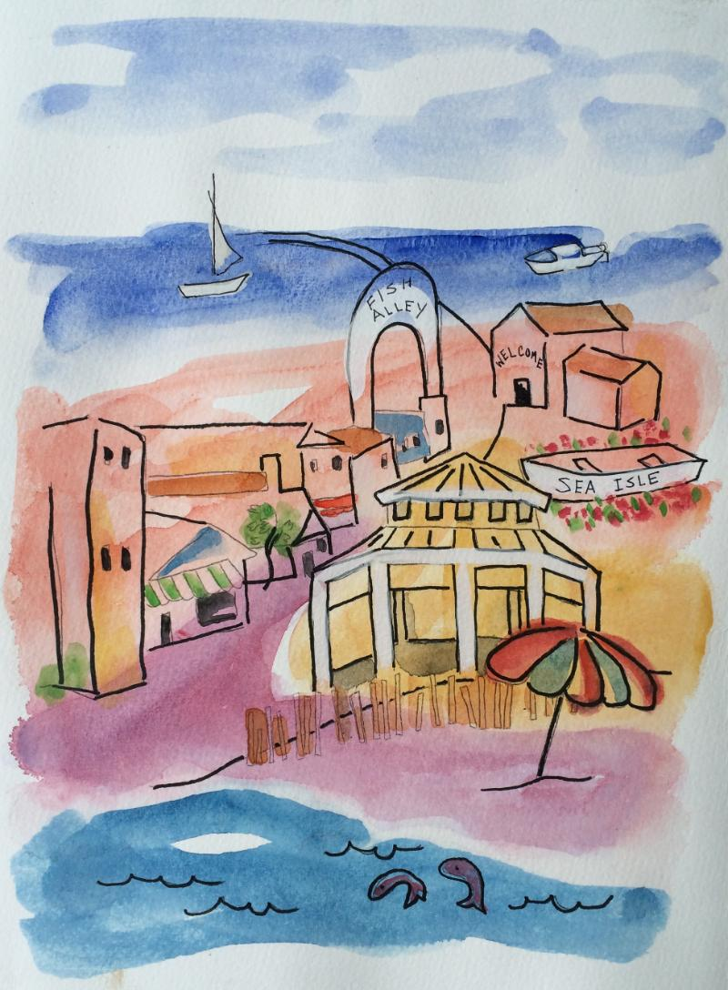 whimsical beach town watercolor 2.jpg