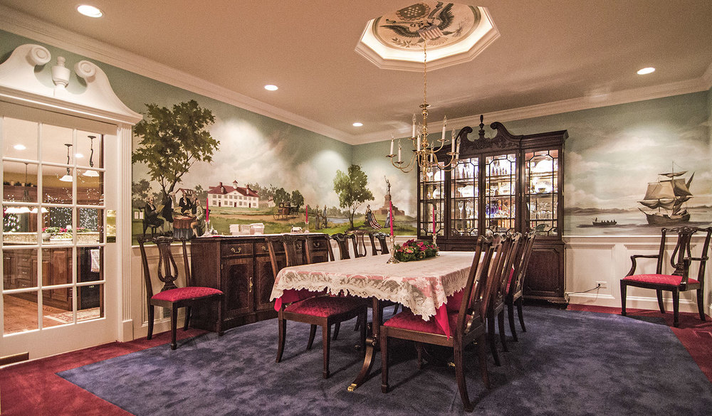 Dining Room, Colonial DC