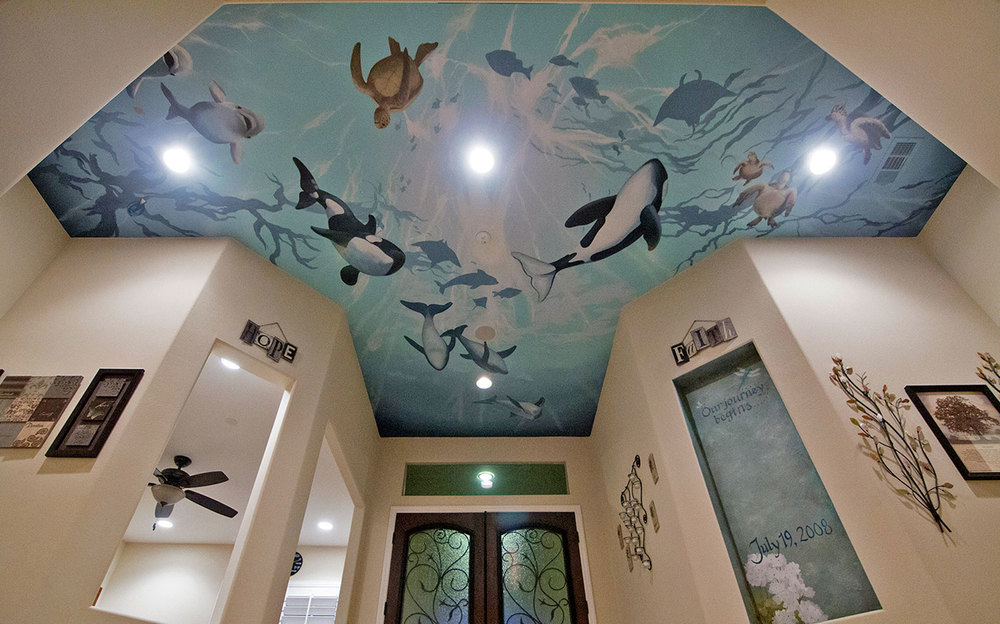 Foyer, Underwater Ceiling