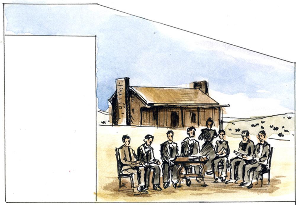 Mural 4: Sketch