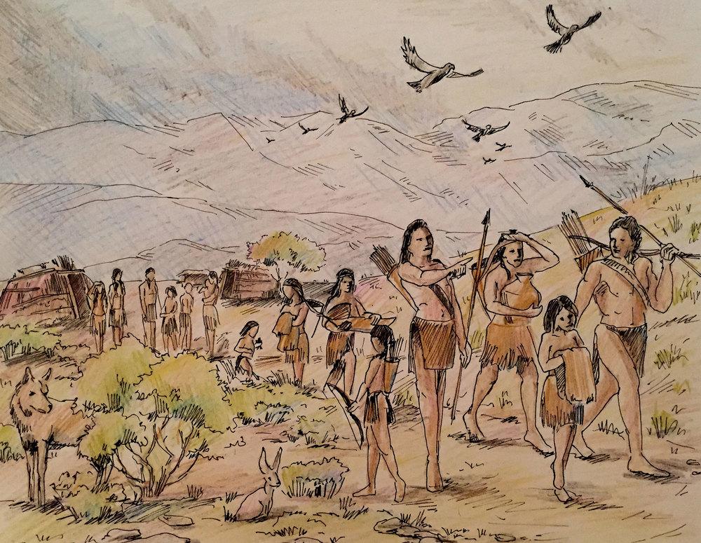 Mural 1: Sketch