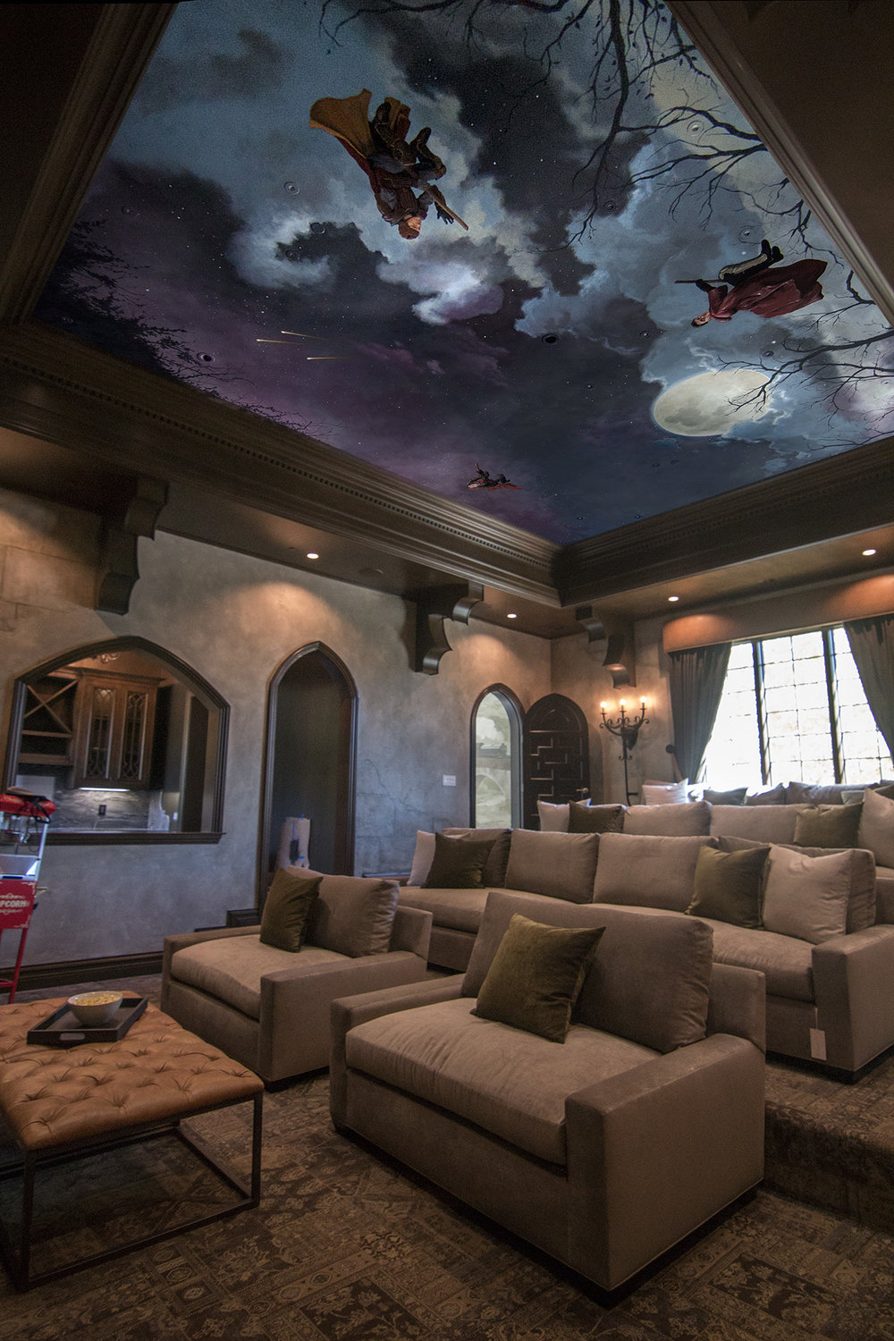 Home Theater, Harry Potter Ceiling