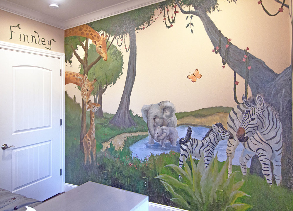 Kid's Jungle Room