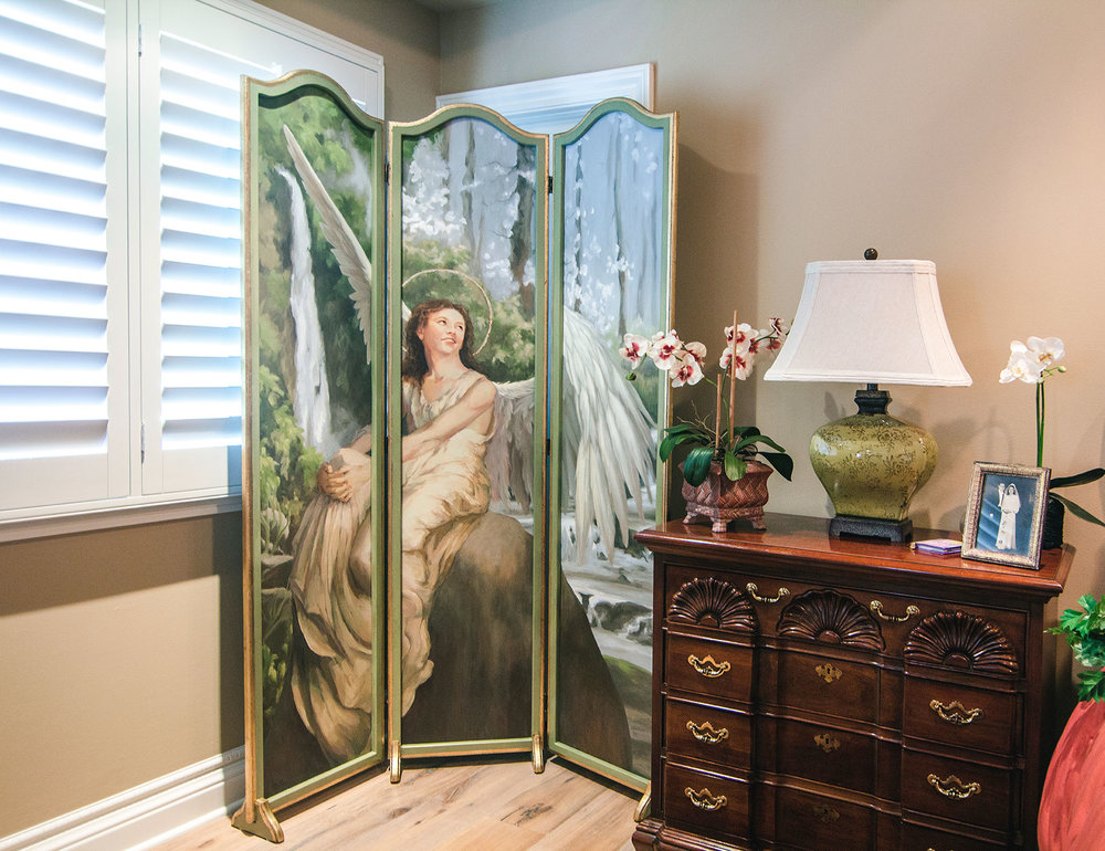 Angel Room Divider