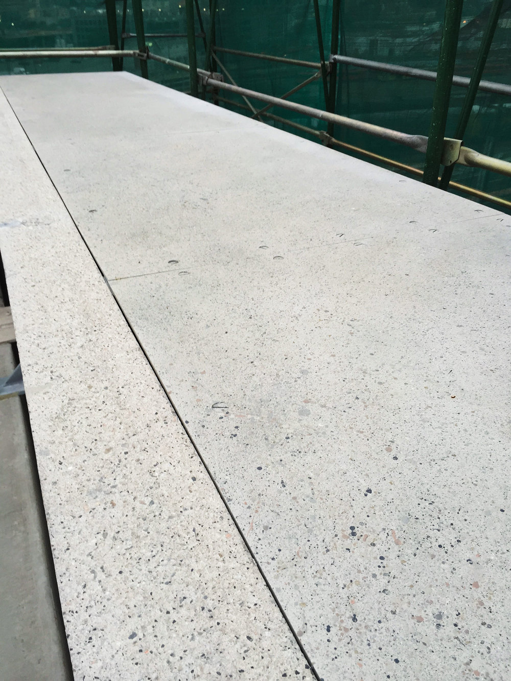 Concrete Faux Finish at Hilton, San Diego