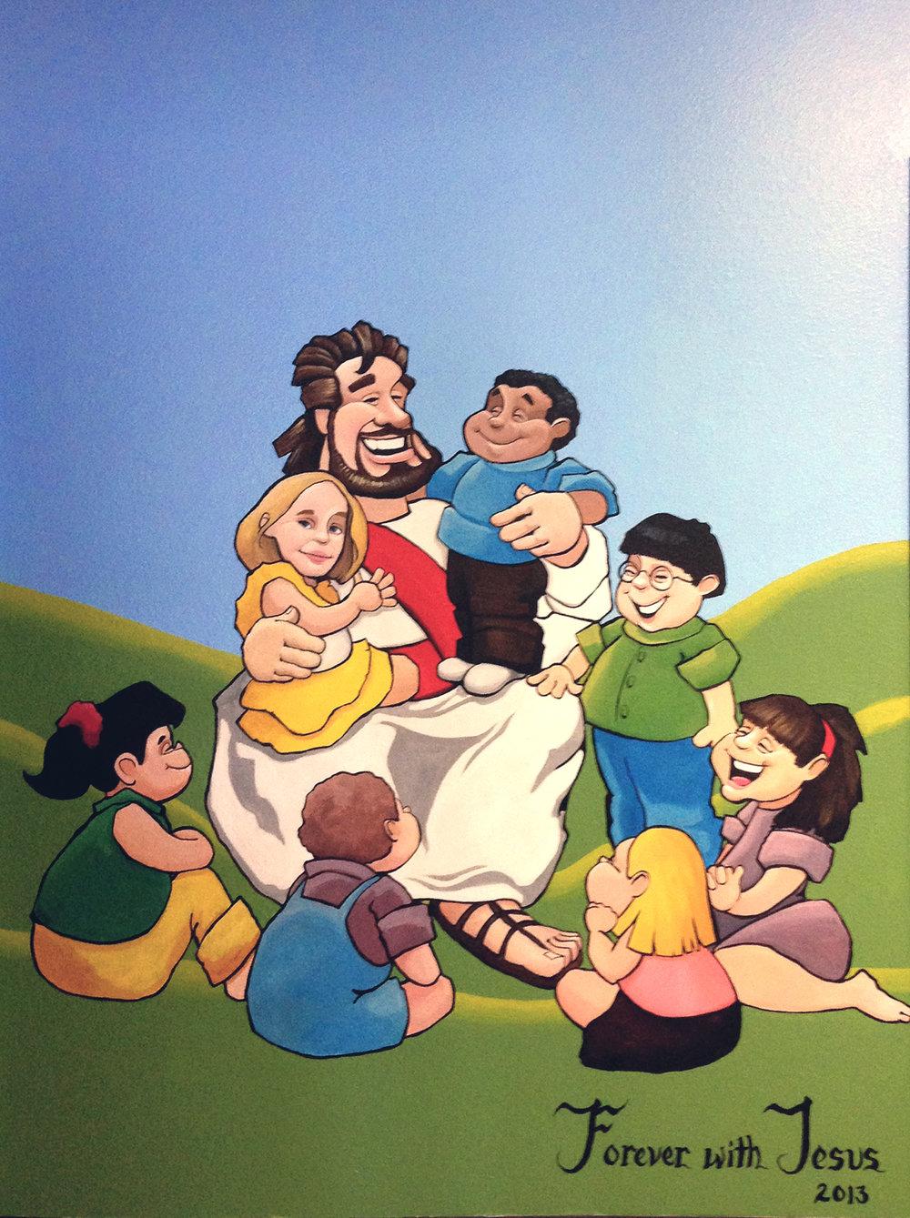 Jesus & kids