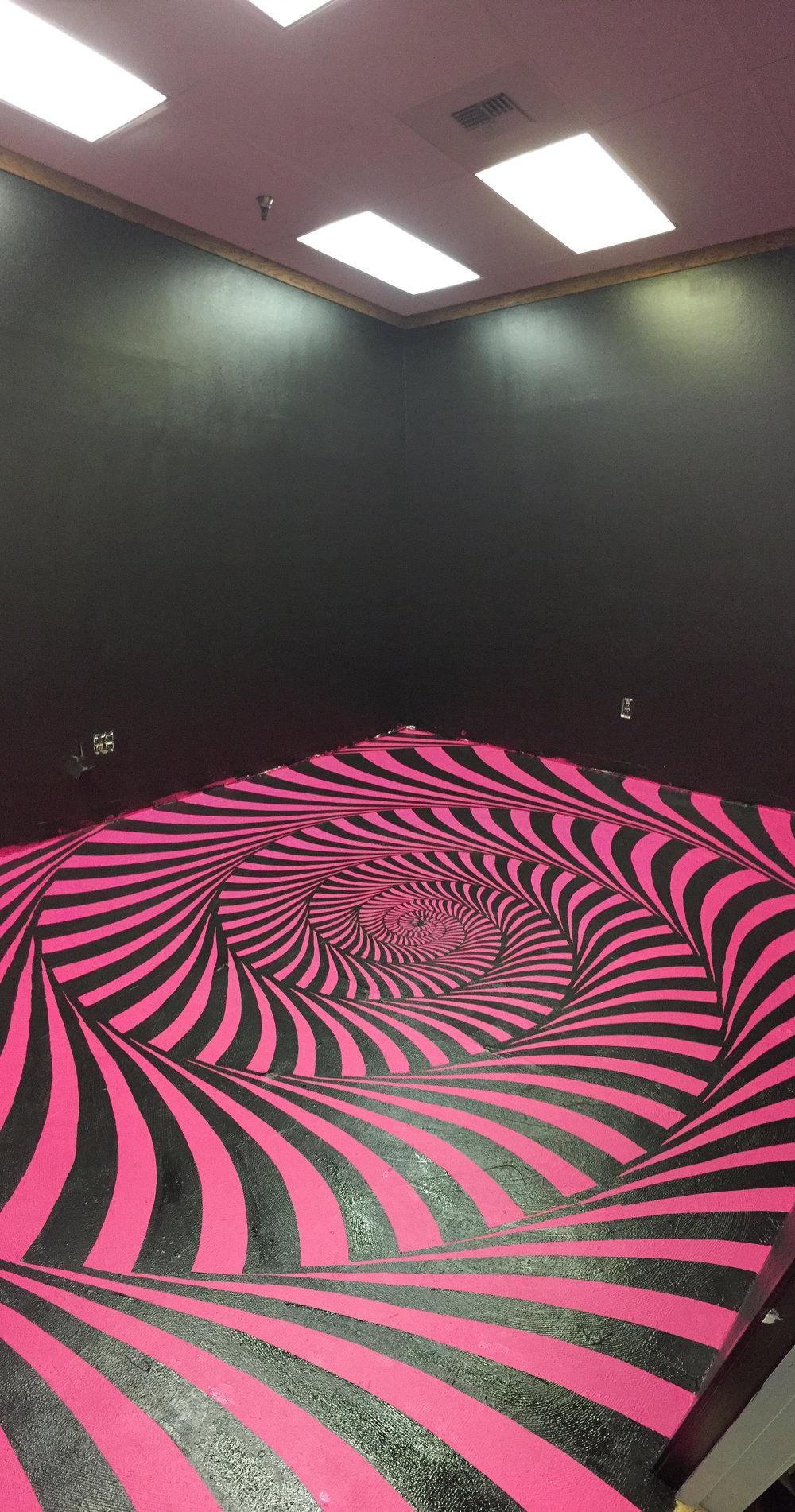 Lekkah Lounge Floor Mural