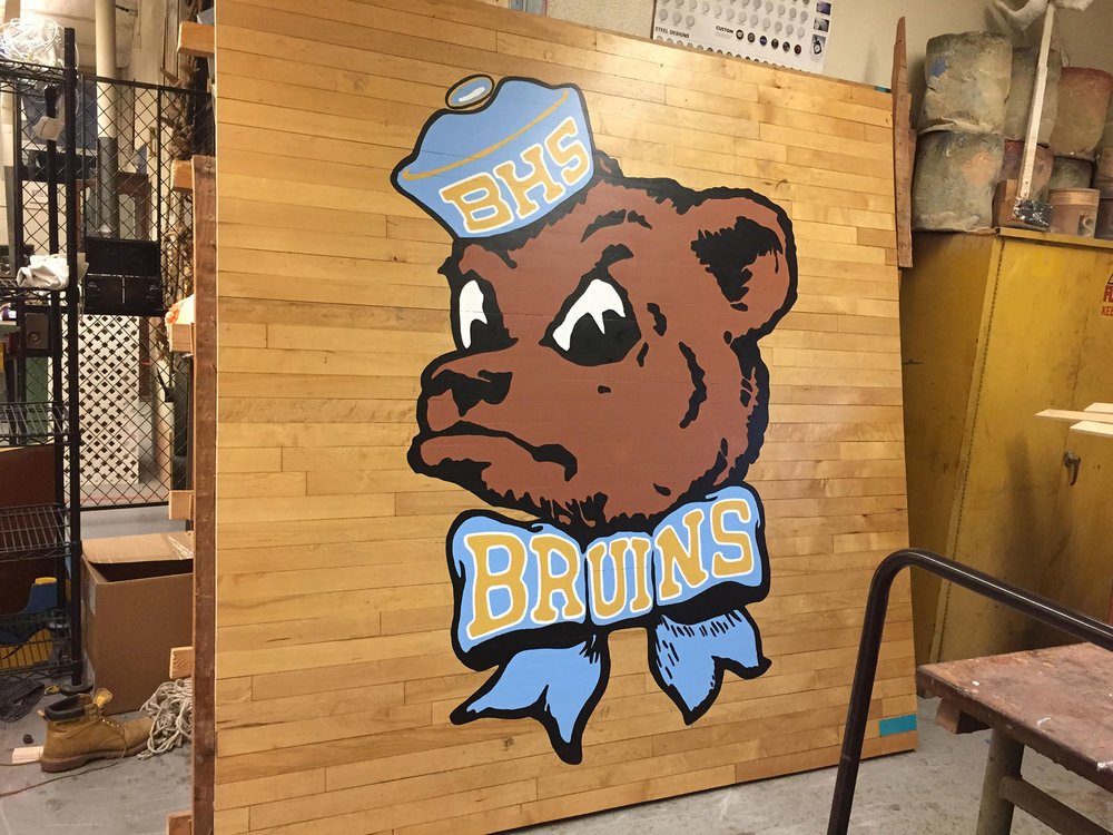 Bruins Mascot