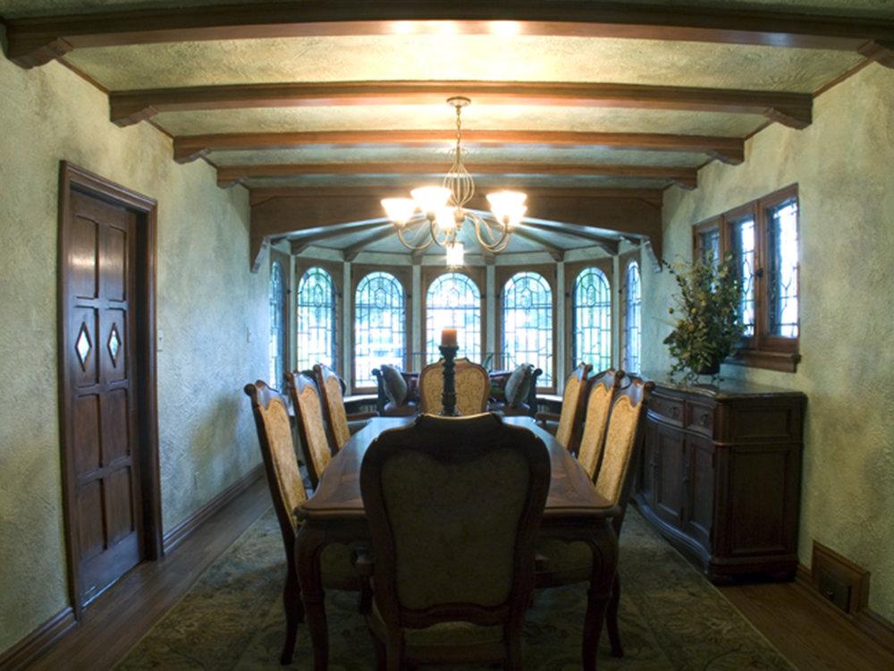 Aged Dining Room