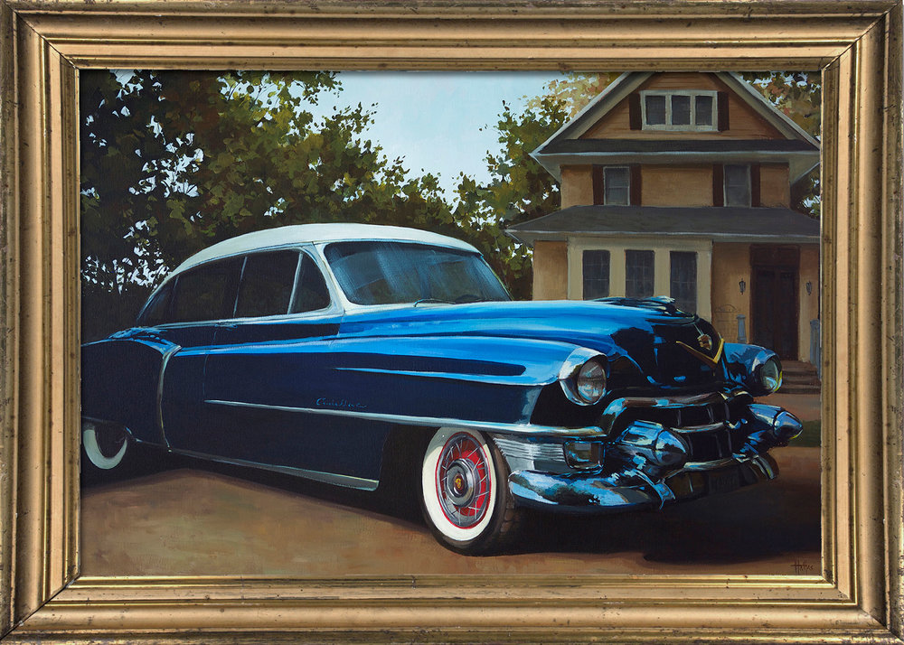 Commissioned Fine Art |  Cadillac
