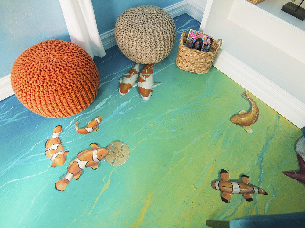 Underwater Floor