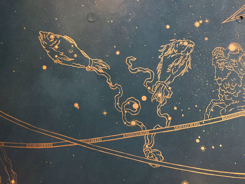 Horoscope Ceiling Closeup