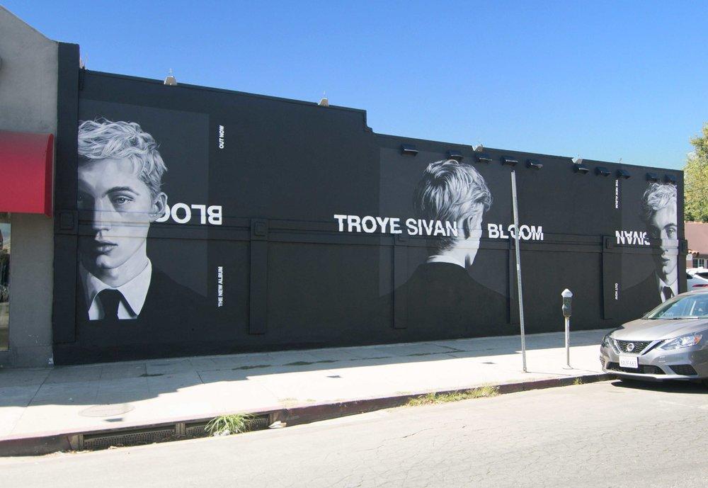 Troye Sivan Bloom, Melrose Ave, LA