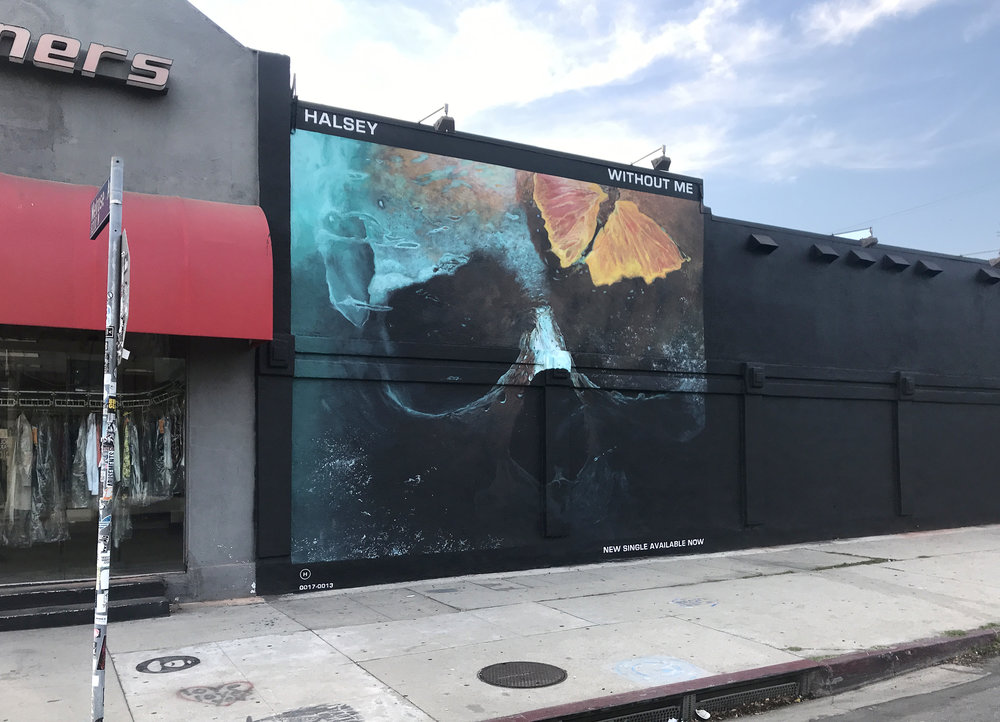 Halsey Album Cover | Melrose Ave