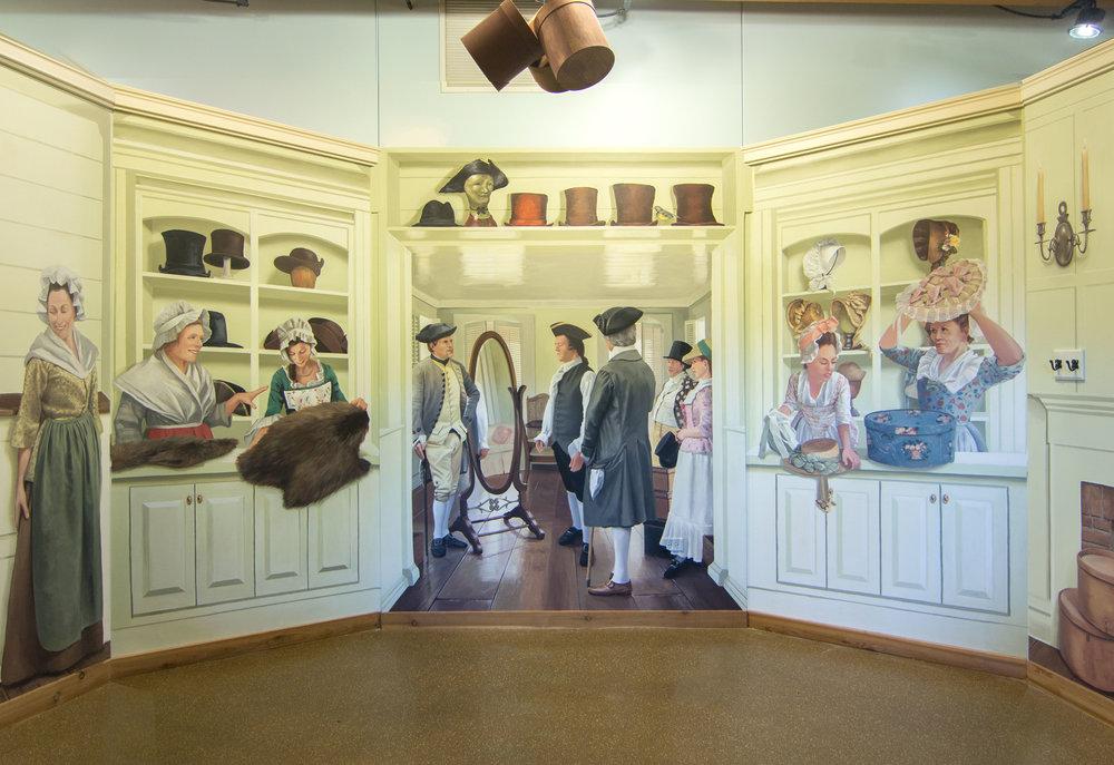 "Isle a la Cache Museum, ""19th Century Hat Shop"""