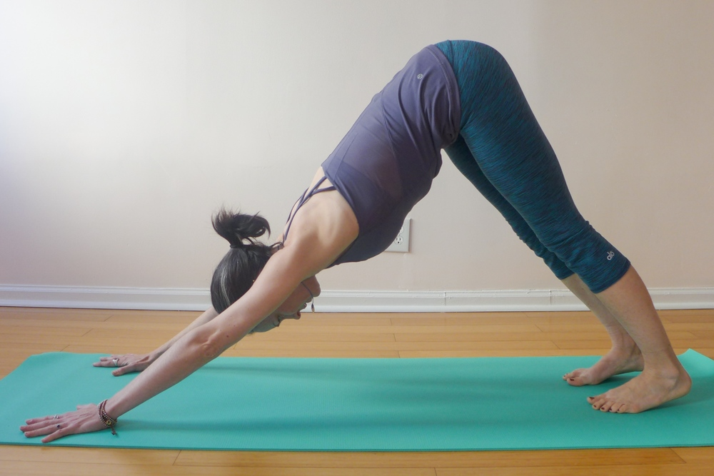 5. DOWNWARD FACING DOG