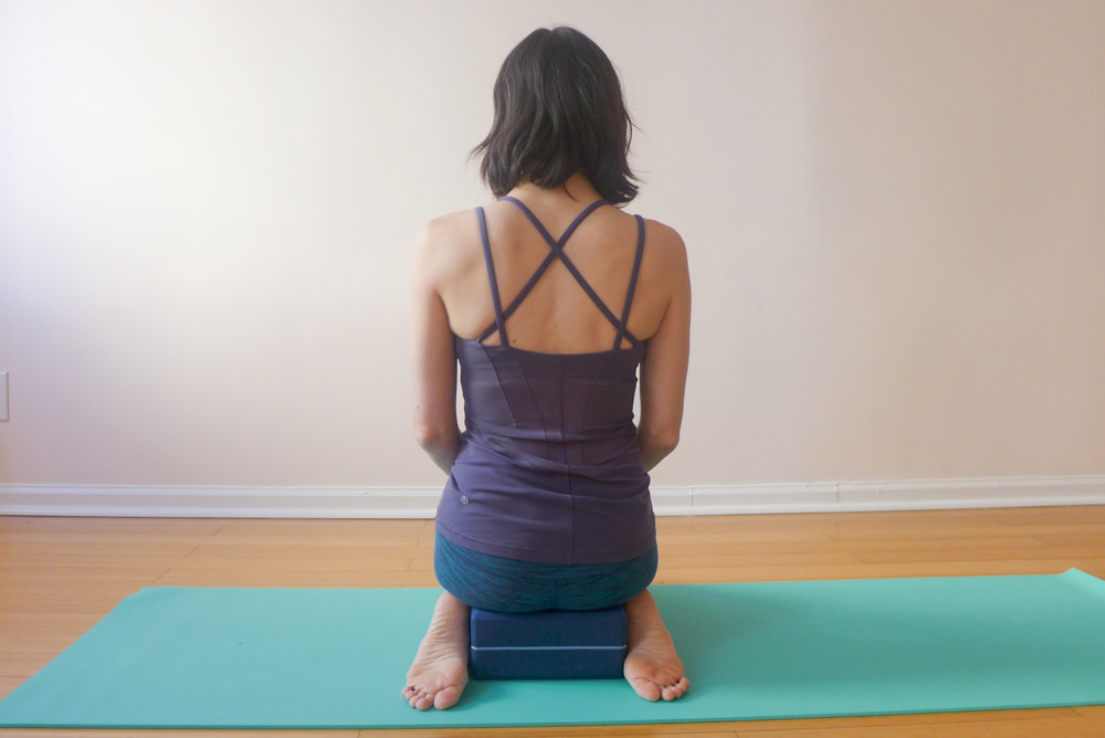 1. HERO'S POSE (VIRASANA)