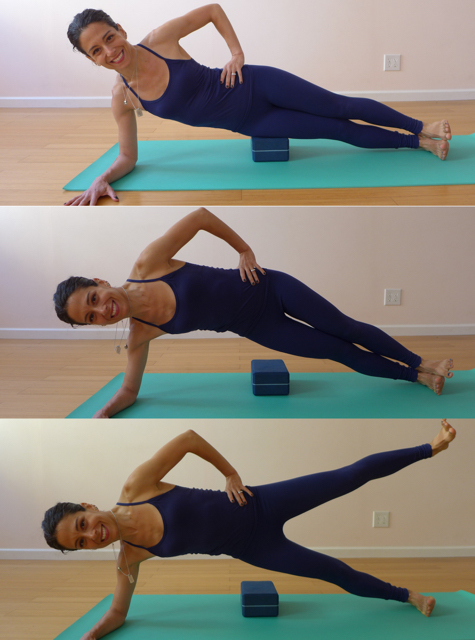7. SIDE PLANK VARIATIONS