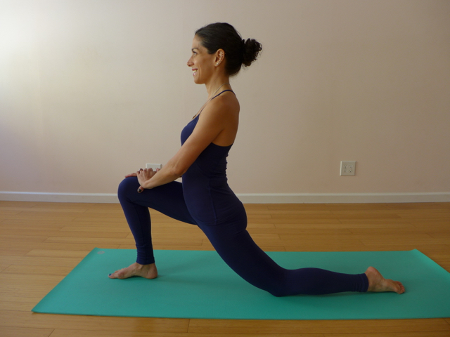 3. QUAD STRETCH (ANJANEYASANA)