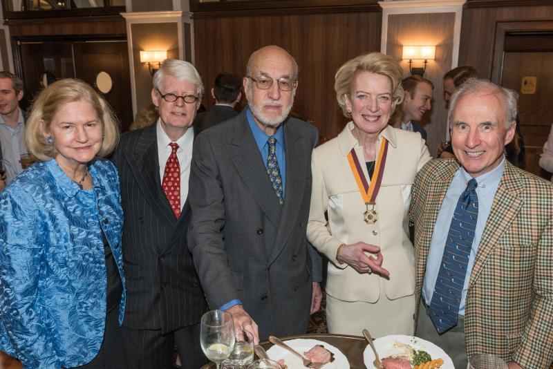 anniewatt_30679-Sara Hunter-Hudson, Stephen P. Foley, Bill Greenspan, Anne Hall Elser, Dermod Sullivan.jpg