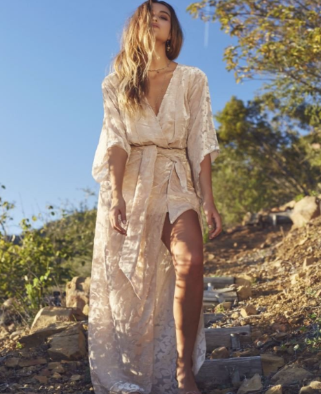 Ethereal Maxi's - There is nothing more summer than an airy maxi. Look for pieces with non traditional sleeves and soft draping for the perfect boho chic look. Buy Here