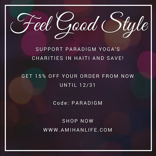 Tis the season for love and style, give back and save on all orders from now until 12/31 @goparadigm #amihanxgoparadigm #couponcode #holidayshopping #paradigmyoga #amihanlife #shopshopshop #dcstyle #dcfashion #dcyoga